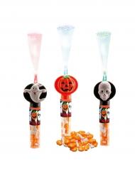 Bastón luminoso Halloween con caramelos