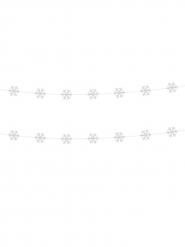 2 Guirlandas copos blancos 180 cm