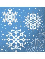 16 Servileltas de papel copos de NAvidad 33 x 33 cm