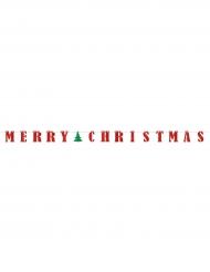 Guirlanda banderillas Merry Christmas 3.65 m
