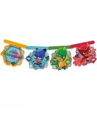 Guirnalda de cartón PJ Masks™ 163m5 cm