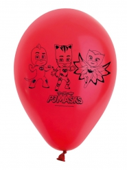8 Globos rojos de latex PJ Masks™