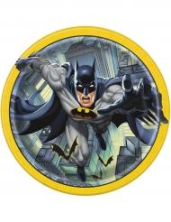 8 Platos de cartón Batman™ 23 cm