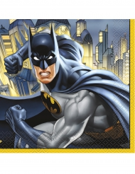 16 Servilletas de papel Batman™ 33x33 cm