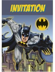 8 Tarjetas de invitación Batman™