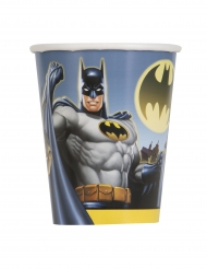 8 Vasos de cartón Batman™ 25 cl