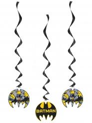 3 Decoraciones espiral para colgar Batman™