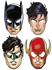 8 Máscaras de cartón Justice League™