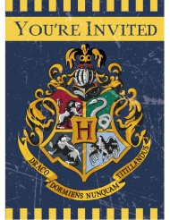 8 Tarjetas de invitación Harry Potter™