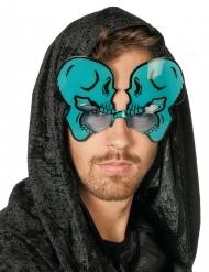 Gafas esqueleto fosforito adulto Halloween