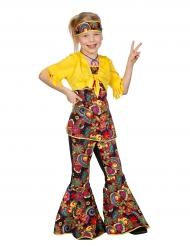 Disfraz disco hippie niña