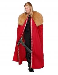 Capa guerrero del norte rojo hombre