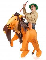 Disfraz león inflable adulto