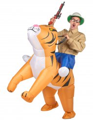 Disfraz tigre inflable adulto