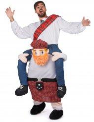 Disfraz hombre sobre escocés adulto