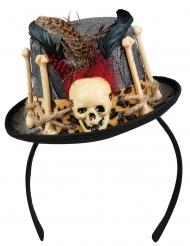 Mini sombrero maestro vudú adulto