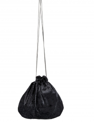 Bolsa terciopelo negro 27 cm