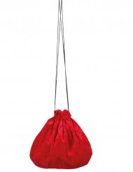 Bolso terciopelo rojo 27 cm
