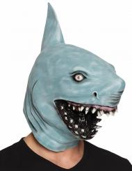 Máscara tiburón látex adulto