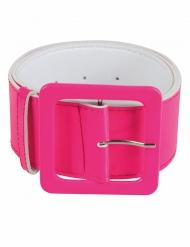 Cinturón rosa fosforito adulto