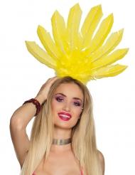 Cofia brasileña amarilla mujer