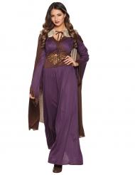 Disfraz Dama del norte violeta mujer