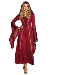 Disfraz dama roja mujer