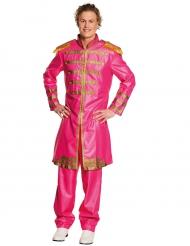 Disfraz pop rosa adulto