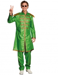 Disfraz de pop verde adulto