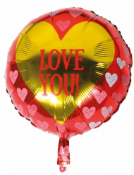 Globo aluminio Love you 45 cm