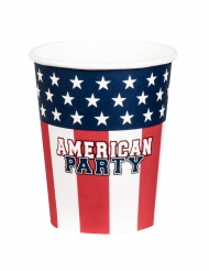 12 Servilletas American party 33 x 33 cm