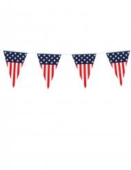 Guirlanda banderines USA 6 m
