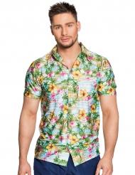 Camisa paraíso Hawái adulto