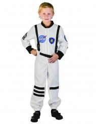Disfraz austronauta blanco niño
