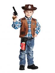 Chaleco de cowboy niño