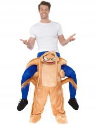Disfraz hombre sobre hombros de cucaracha adulto