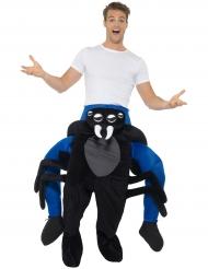 Disfraz hombre sobre hombros araña adulto