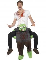 Disfraz hombre sobre zombie adulto Halloween