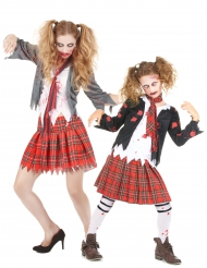 Disfraz colegiala zombie madre/hija Halloween
