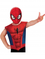 Camiseta y máscara Spiderman™ niño
