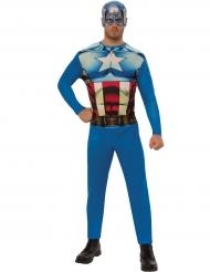 Disfraz Capitán América™ adulto