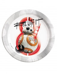 8 Platos BB-8 Star Wars 8 The Last Jedi™ 23 cm
