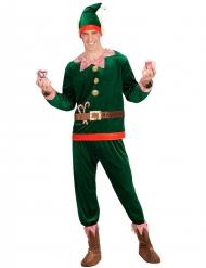 Disfraz duende asistente hombre Noel