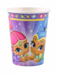 8 Vasos de cartón Shimmer & Shine™ 250 ml