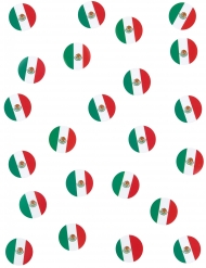 150 Confetis de mesa bandera México