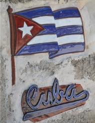 Decoración mural Cuba 30 x 41.5 cm