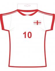 Decoración camiseta de Inglaterra 31 x 33 cm