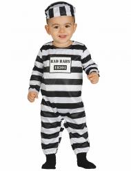 Traje prisionero bebé