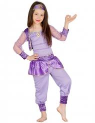 Disfraz bailarina oriental violeta niña