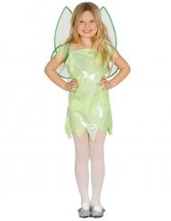 Disfraz hada verde brillante niña